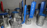 1/2 Einteiler-Kugelventil des 1 Zoll-Edelstahl-SS 304 SS 316 für Industrie-Gebrauch