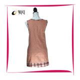 Impressão tingida fio do algodão da tela do bordado que cozinha o avental da cozinha