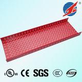 Bandeja de cabo perfurada da bandeja com cabo de Ce/TUV/SGS