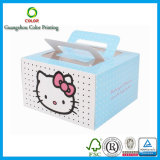 Großverkauf Customized Paper Cake Box mit Logo Print