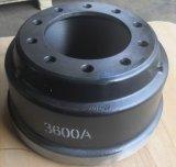 Tambour de frein de camion de la qualité 3600A
