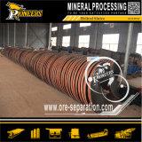 Concentrador de lavagem espiral do minério pequeno da mineração para a máquina da redução do cromo