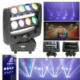 Stage Lighting를 위한 거미 Beam Light 8PCS*12W RGBW 4in1