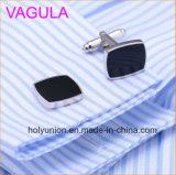 Mancuernas de la alta calidad VAGULA Wedding el lujo francés Cufflings de las conexiones de pun¢o de la camisa