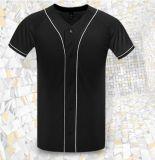 T-shirt sec de douille de short d'ajustement de base-ball pour les hommes