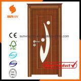 Подгонянные меламина MDF экологичности цвета размера гостиничные номера двери декоративного деревянные
