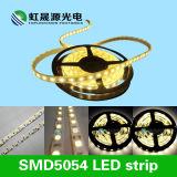 Tira elevada 30LEDs/M do diodo emissor de luz da tira do diodo emissor de luz do lúmen SMD5054 700-900lm/M