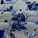 Tela impresa poliester del telar jacquar del Dobby/para las materias textiles del hogar de la ropa