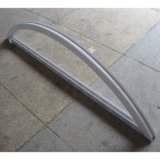 White Color UPVC Profile Arch Fix Window K02011
