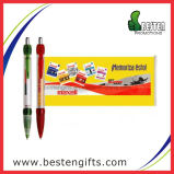 Crayon lecteur bon marché multicolore de drapeau d'indicateur de cadeaux promotionnels, crayon lecteur de drapeau d'Advertisting