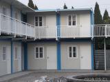 Pack piano Container House per il campo di lavoro, Army Camp