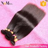 Jungfrau-China-Haar gerade 3 rollt Abkommen-preiswerte gerade Menschenhaar-Bündel-China-gerades Haar-Bündel zusammen
