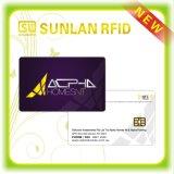 Cartão esperto do contato feito sob encomenda CI com a microplaqueta Sle5528/4428 (amostras livres)