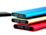 고무 Coated Surface를 가진 Design 새로운 5000mAh Power 은행 Charger