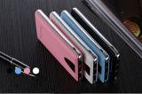 Le côté de pouvoir de l'affichage à cristaux liquides en aluminium de Fram de chargeur portatif de téléphone de couverture de cuir de 10400 heures-milliampère
