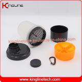 bottiglia astuta di plastica dell'agitatore 400ml con il Pillbox in contenitore (KL-7003)