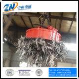 Desecho que levanta el electroimán circular con el ciclo de deber del 75% y 1300kg la capacidad de elevación MW5-120L/1-75