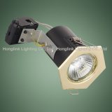 90mins Fire Rated CeilingのためのBS476 G10 5W 7W Hexagon LED Downlight