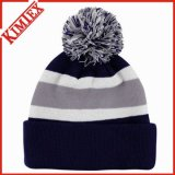 Les coutumes façonnent le Beanie tricoté acrylique de chapeau
