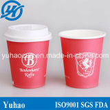 8oz Disposable Coffee Cups con Lids (YH-L227)