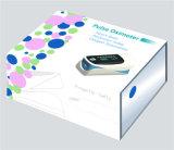 Punta delle dita tenuta in mano di mini della clip SpO2 della visualizzazione di OLED del sensore sensi portatili del video 4