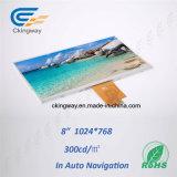 Индикация LCD верхнего слоя касания LCD TFT LCM касания разрешения франтовского бытового устройства высокая