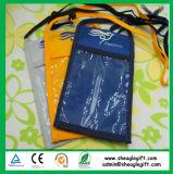 Kundenspezifischer Schulter-Beutel des Polyester-70d mit dem Firmenzeichen gedruckt