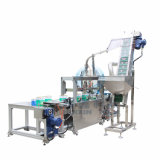 Line/Filling Line에 있는 8-12 Barrels 또는 Min 완전히 Automatic Filling Capping Machine