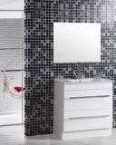 MirrorのFloor簡単なStanding PVC Bathroom Vanity