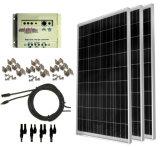 Kit completo del panel solar de 100 vatios