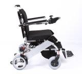 Cadeira de rodas de dobramento de pouco peso de alumínio para enfermos