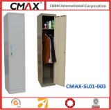 Hanging Rack Cmax-SL01-003를 가진 단 하나 Door Steel Locker