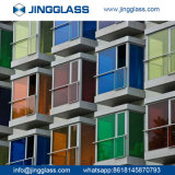 L'isolation en gros de sûreté de construction de bâtiments a teinté la glace colorée en verre