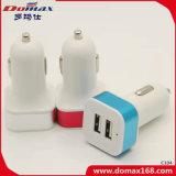 De Telefoon Dubbele USB van de cel Mobiele Telefoon de Draagbare Lader van de Auto