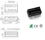 4-20mA zu 0-5V Analog Conversion Dual Isolation Converter Sy A2 - P1 - O8