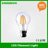Diodo emissor de luz BRITÂNICO Edison Bulb de Standard 220-240V 8W 840lm B22