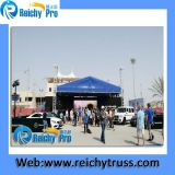 Iluminação Truss Speaker Tower Truss Aluminum Outdoor Truss com Roof