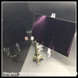 4mm Purple Colored Decorative Glass Mirror