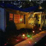 Fair Ground LED Lights Lights de paysage Lampe de jardin à laser Outdoor Garden Solar Lawn Lamp