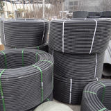Linha da extrusão da câmara de ar do PVC para a fonte ou a drenagem de água