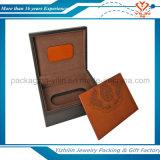 Rectángulo de regalo de madera del estilo al por mayor de la vendimia adentro con precio de fábrica