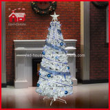 Christmas de rotation Tree avec Light String Colorful Ornaments