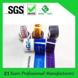 Impreso acrílico BOPP cinta de embalaje / lacre del cartón adhesivo de la cinta de BOPP