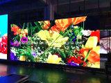 Pantalla de visualización fundida a troquel alquiler a todo color de interior de LED P6.25/P4.81