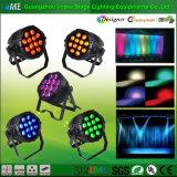 Il commercio all'ingrosso 12PCS il LED DJ di industria di illuminazione della fase PAR l'illuminazione