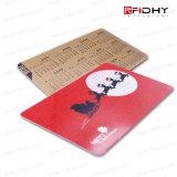 Bella scheda del regalo di RFID per il supermercato e la promozione