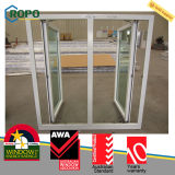 Heiße Verkaufs-Dreiergruppe Glas-PVC-Fenster
