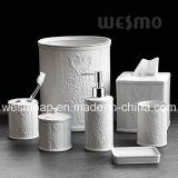 Coordonnées de Bath de porcelaine de gravure en relief (WBC0610A)