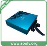 Коробка Keepsake бумаги картона сини младенца/пинка младенца складная