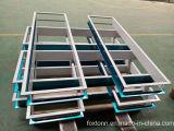 Kundenspezifische Qualität galvanisierte Stahl-lochende Teile